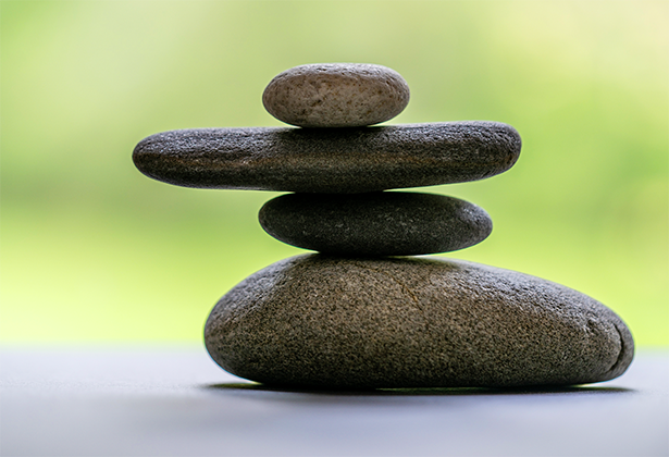 image of stacked rocks